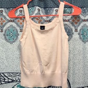 Gap size small crop top light pink